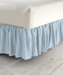 bedskirts laurel check gathered dust ruffle country curtains