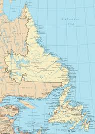 Winnipeg Canada Map Newfoundland And Labrador Road Map
