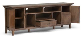 Simpli Home Warm Shaker Tv Stand Simpli Home Redmond 72