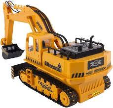 Radio Controlled Front Loader 1 10 Scale Rc Bulldozer Construction Emob Full Function 8 Channel Rc Hydraulic Excavator U0026 Bulldozer