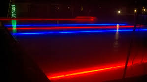 fun lights great idea for your backyard ice rink fair