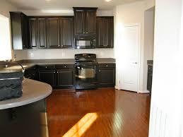 Black Kitchen Appliances by Cabinets U0026 Drawer Espresso Colored Kitchen Cabinets Gray Granite