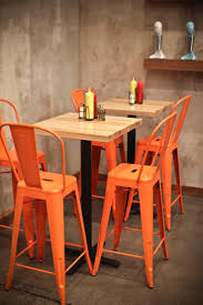 best 25 orange bar stools ideas on pinterest orange chairs