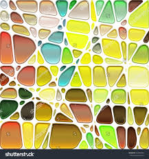 abstract stainedglass mosaic background stock vector 263098460