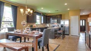 new homes in houston texas by centex compton floorplan youtube