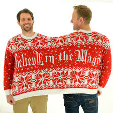 believe in the magic bff twosie 2 person sweater