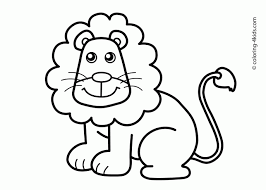 coloring pages decorative coloring pages draw lion coloring