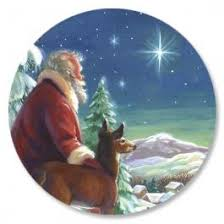 santa and star christmas cards current catalog