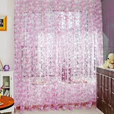 Multi Colored Curtains Drapes Multi Color Tulle Door Window Curtain Balcony Drape Panel Sheer