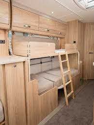Bunk Beds For Caravans Xplore 586 Review Xplore Caravans Practical Caravan