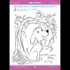 big p k alphabet workbook introduces letters and abcs zone