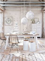Stunning Shabby Chic Dining Room Design Ideas - Chic dining room ideas