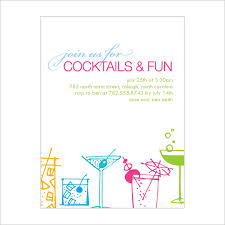 invitation for party template 15 stunning cocktail party