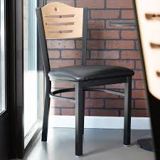 lancaster table and seating lancaster table seating natural finish bistro dining chair with 1