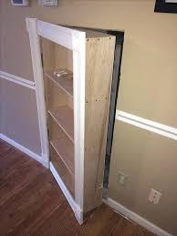 Secret Closet Door Bookcase Build Secret Bookcase Doors 1000 Ideas About