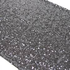 sequin table runner charcoal gray 404453 gray sequin table