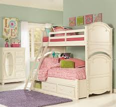 Antique White Bunk Beds Antique White Bunk Bed With Storage Drawers With