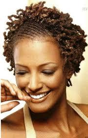 short hairstyles for natural hair for black women women medium