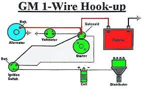 one wire ammeter diagram diagram wiring diagrams for diy car repairs