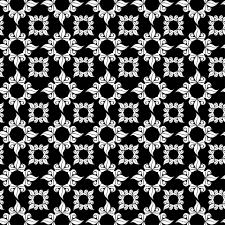 ornamental black white background free stock photo