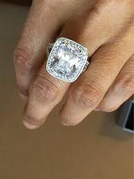 engagement rings size 8 size 8 8 carat wedding bridal engagement ring platinum