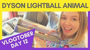 dyson light ball animal reviews dyson lightball animal review vlogtober 12 youtube