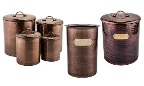 copper kitchen canisters kitchen containers groupon goods