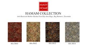 Ebay Area Rugs Maxy Home Hamam Anti Bacterial Rubber Backed Area Rugs Rug Runners