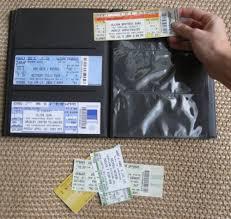ticket stub album concert ticket album buy online in uae products in the uae