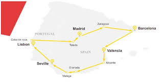 si ge b b la route best spain tour travel packages from singapore