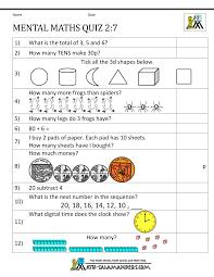 Number 2 Worksheet Likable Printable Mental Maths Year 2 Worksheets Tes F Photocito