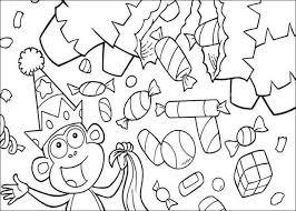 dora explorer coloring pages 53 printables favorite