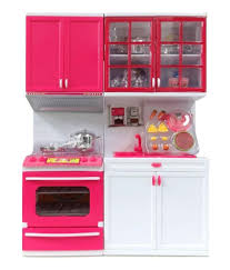 shop u0026 shoppee multicolour barbie beautiful vogue kitchen set of