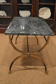a 1950 u0027s brass and marble coffee table in decorative antiques