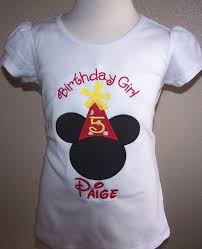 mickey mouse birthday shirt personalized mickey mouse and yellow birthday hat shirt