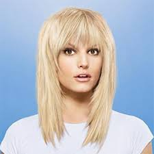 choppy bangs with medium hairstyle foк women u0026 man
