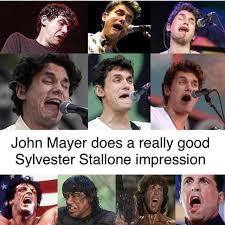 Stallone Meme - dopl3r com memes john mayer does a really good sylvester