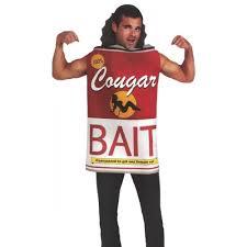 cougar hunter bait mens costume