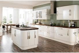 brown white green kitchen b u0026q diseño cocina pinterest