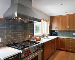 Grey Kitchen Backsplash Kitchen Endearing Kitchen Backsplash Grey Subway Tile Catchy And