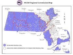 Franklin Ma Map Regional Commissions Mass Gov