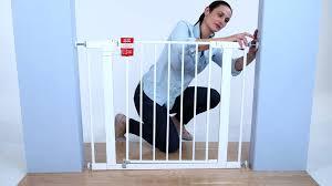 Child Stair Gates Argos by Safety 1st Easy Install Walk Thru Gate Installation Youtube