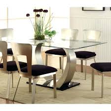 Dining Room Furniture Montreal Glass Top Dining Room Tables Black Glass Dining Room Table And