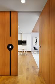 Wooden Interior Minimalist Apartment Design With Simple Wooden Interior Roohome