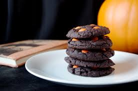 soft u0026 chewy chocolate halloween cookies