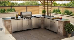 Stainless Steel Kitchen Cabinets Stainless Steel Outdoor Kitchen Cabinets Is Best For Your Outdoor