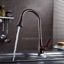 nickel kitchen faucet pullout spray brown color brushed nickel kitchen faucets 136 99