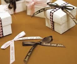 favor ribbons personalized ribbons wedding supplies wedding ribbons