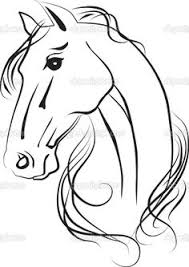 coloring pages print free printable horse coloring sheets