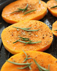 roasted butternut squash slices eatwell101